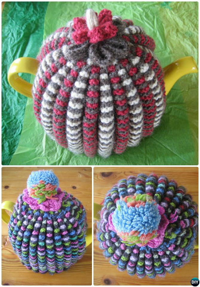 Knit Grannie's Traditional Tea Cosy Free Pattern-20 Crochet Knit Tea Cozy Free Patterns
