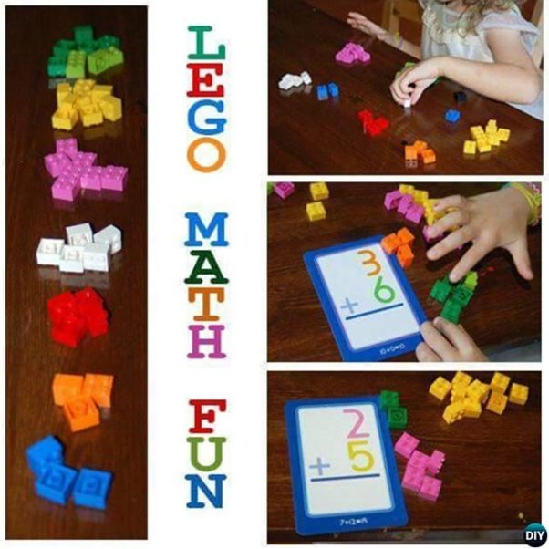 Lego Math Activity-Teachers Use LEGO To Explain Math To Children