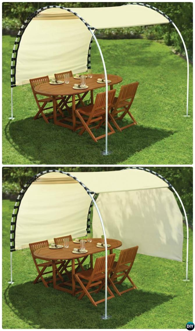 DIY Outdoor PVC Canopy Projects [Picture Instructions]