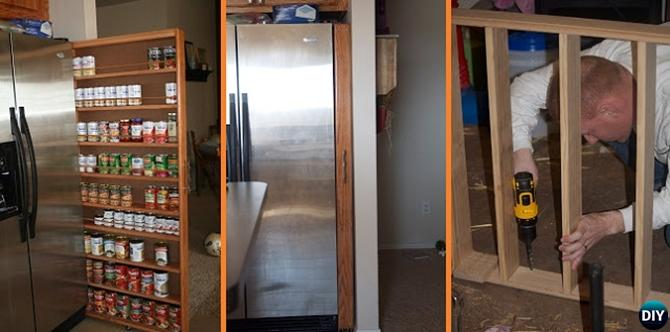 building a pantry cabinet | 16 Brilliant Kitchen Storage Solutions You Can Make Yourself