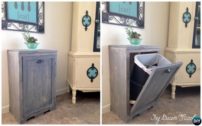 Tilt-Out Trash Can Cabinet-16 Brilliant Kitchen Storage ...