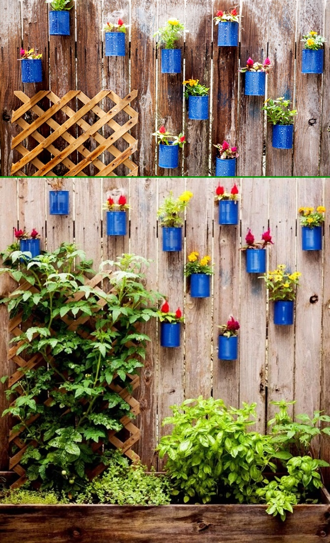 Backyard garden fence decoration makeover diy ideas for Fence ornaments ideas