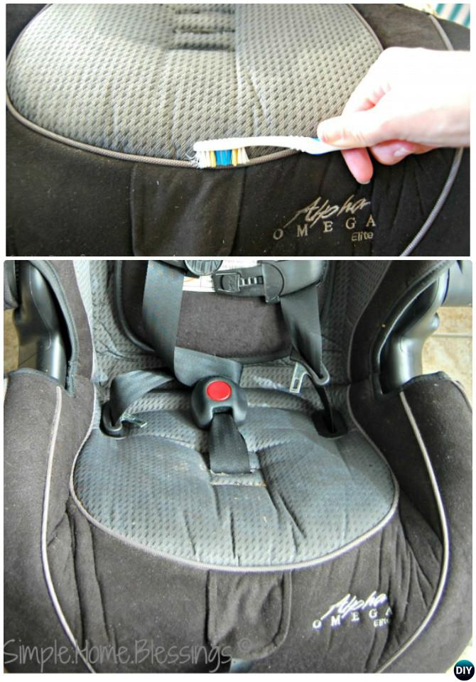Tips to Clean Car Seat-20 Car Cleaning Detailing Tips and Tricks