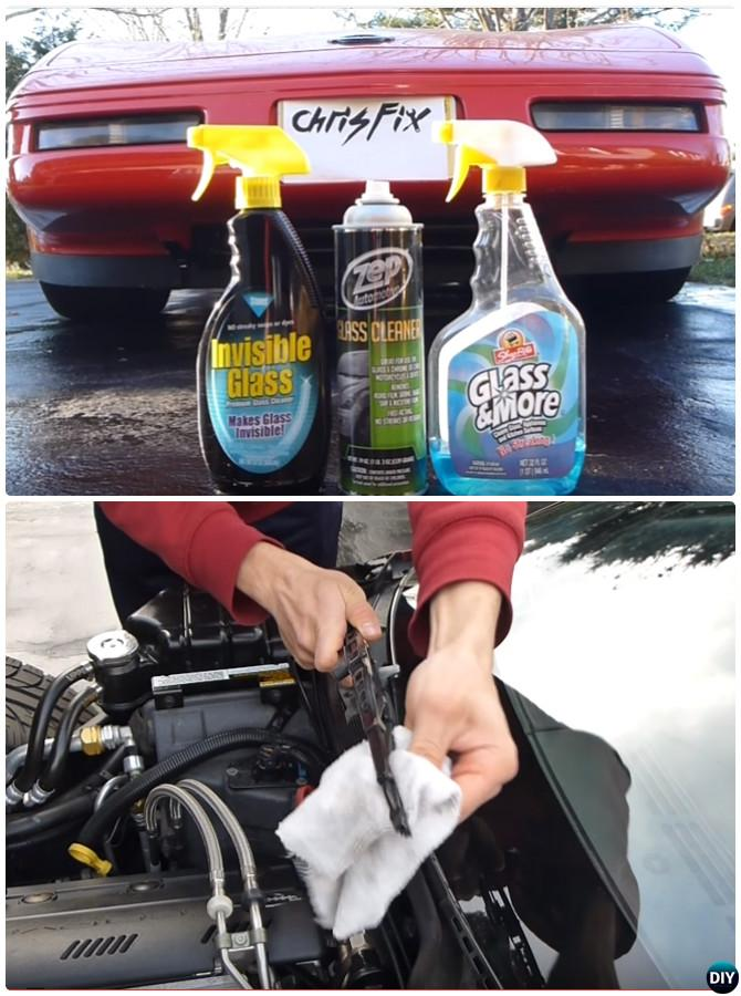 Tips to Clean Windshield Outside-20 Car Cleaning Detailing Tips and Tricks