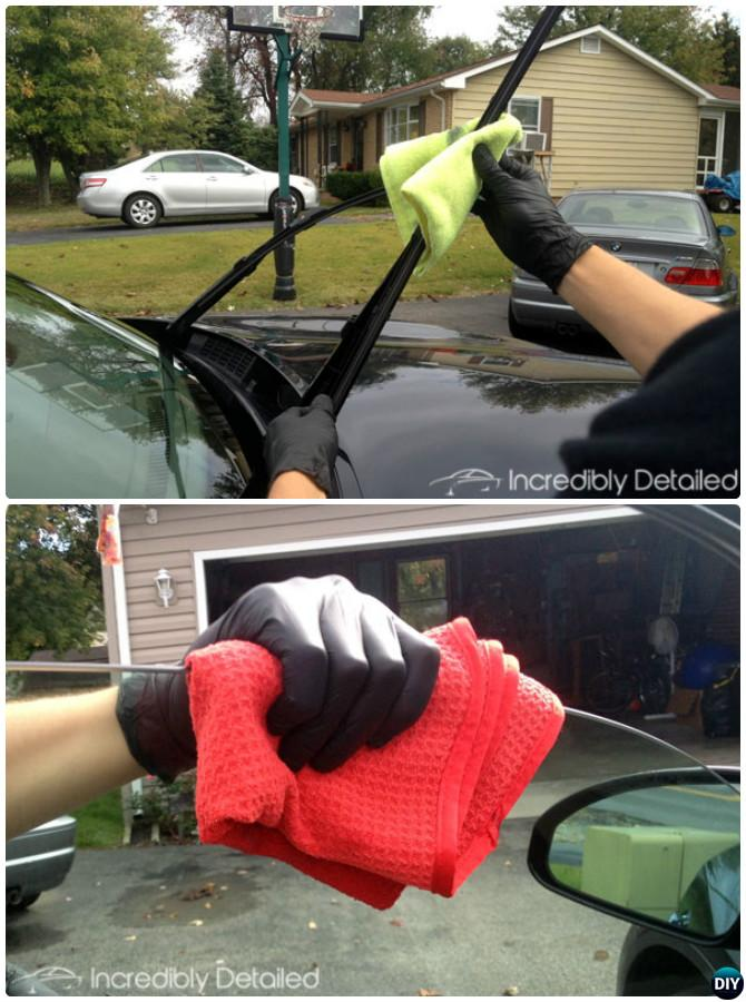 Tips to Clean Windshield Wiper Blades Window-20 Car Cleaning Detailing Tips and Tricks