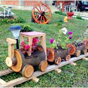 DIY Wood Crate Train Planters Picture Instructions