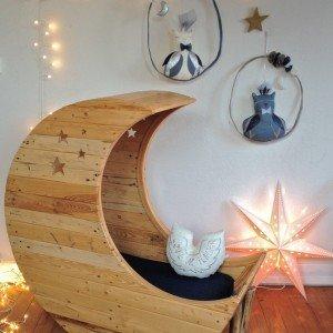 DIY Moon Cot Baby Cradle Crib Bed Instructions