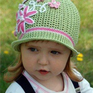 Crochet Panama Flower Hat Free Pattern Video