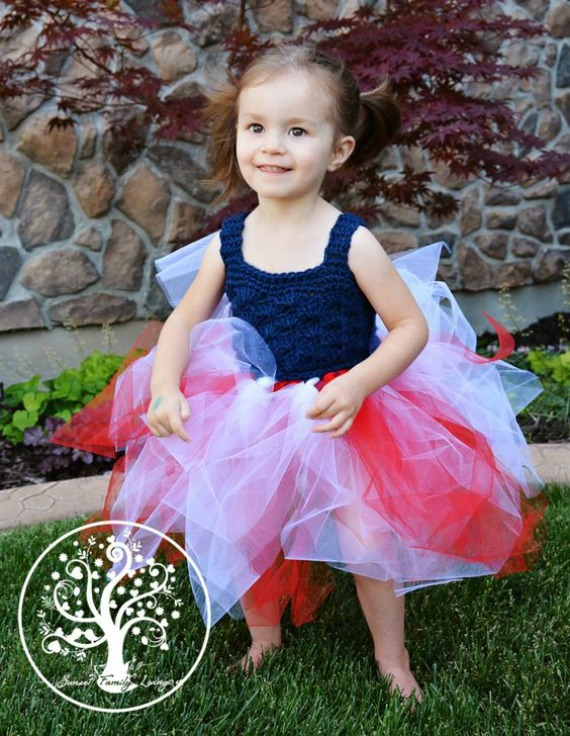 Shell Stitch Tutu Dress Crochet Free Pattern - Tutu #Dress Yoke Free #Crochet; Pattern