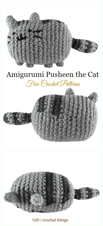 Pusheen the Cat - 1Up Crochet | 1240x570