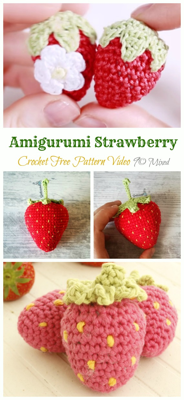 Crochet fruit Play food Amigurumi Toys for Handmade Kids Play ... | 1240x570