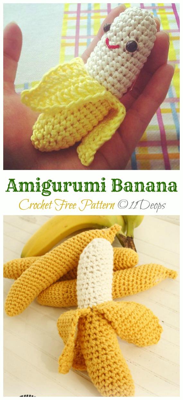 014 | DIY Fruit Amigurumi | How to crochet a PINEAPPLE amigurumi | Free  Pattern | AmiguWorld - YouTube | 1240x570