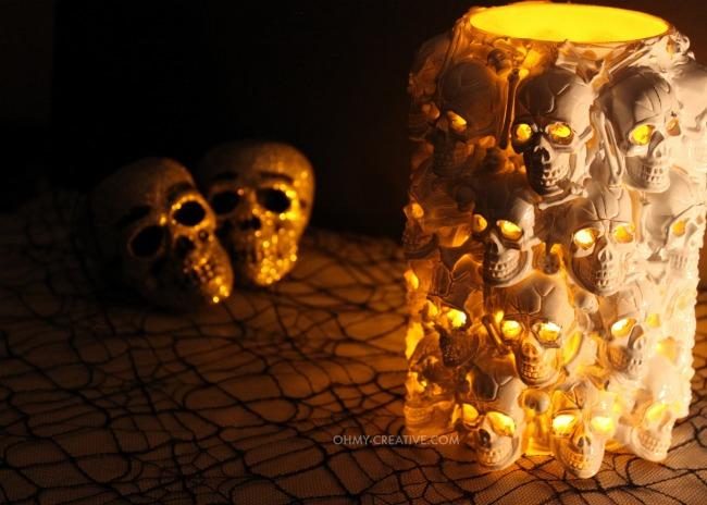 DIY Halloween Boneyard Lantern Tutorial - DIY Halloween Light Projects Instructions