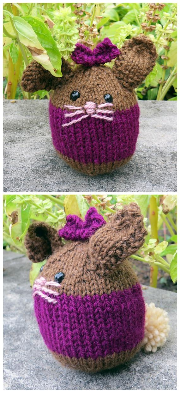 Amigurumi Bunny Ball Knitting Free Pattern - Amigurumi Easter #Bunny; Toy Softies Free #Knitting; Patterns
