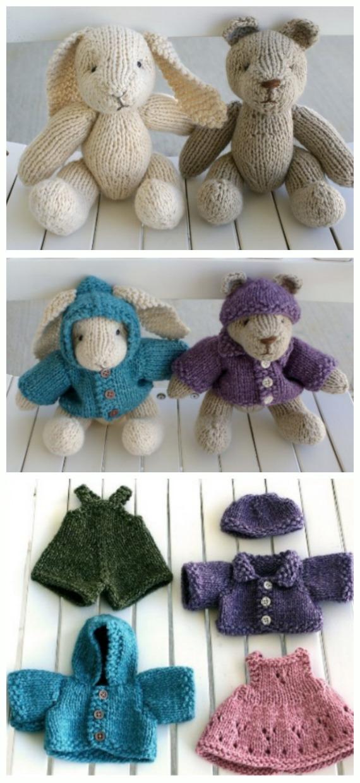 Little Amigurumi Bunny - Free Crochet Pattern - Stella's Yarn Universe | 1240x570