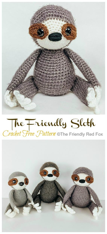 The Friendly Harry- a free crochet pattern - thefriendlyredfox.com | 1240x570