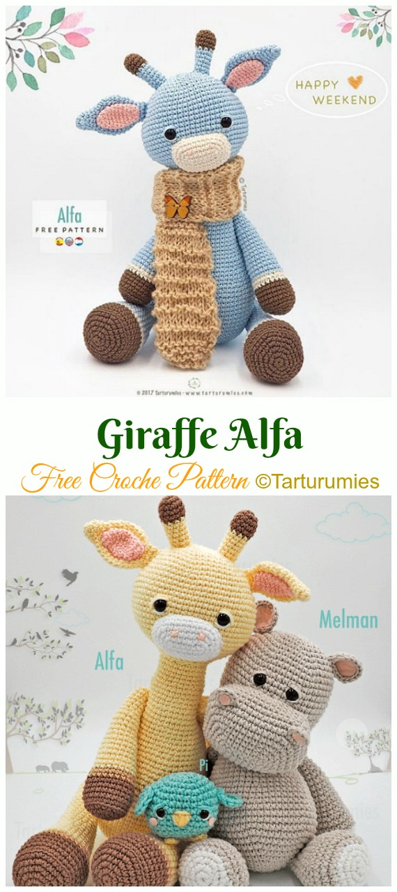 Forest Friends: Amigurumi Crochet Pattern | 1280x570
