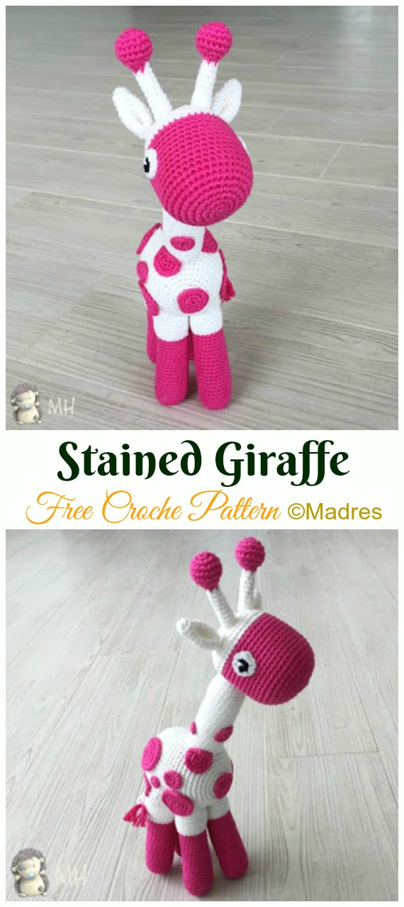 Bonnie Giraffe Doll Crochet Pattern - Cute Amigurumi Giraffe Crochet Pattern  By HavvaDesigns | 1280x570
