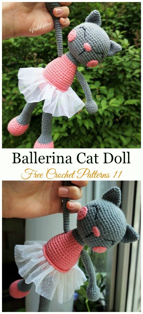 crochet ballerina doll | http://lomets.com | 1250x570
