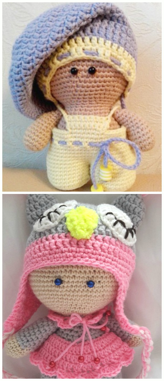 TonTon Doll and Tilda Bunny Free English Pattern (Tiny Mini Design ... | 1320x570