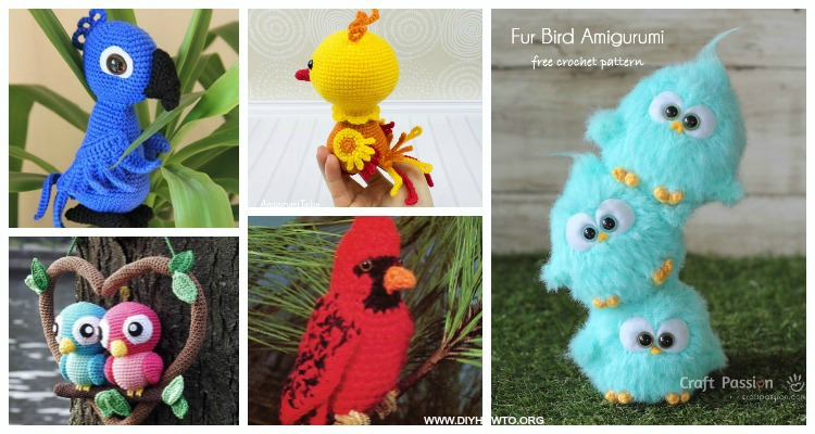 Lovebirds – Free Crochet Amigurumi Pattern | Crochet patterns ... | 400x750