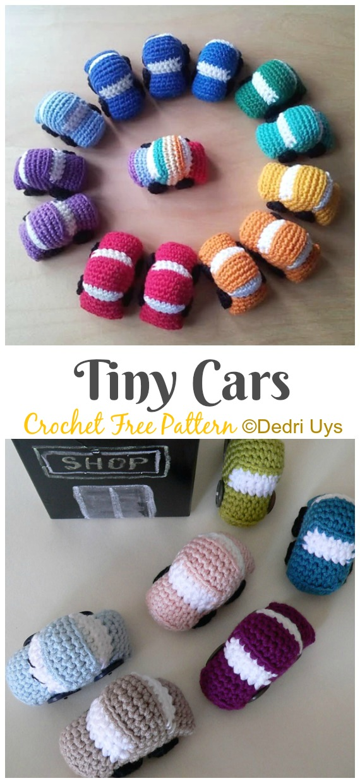 61 Mini Crochet Animals [Free Patterns] | AllFreeCrochet.com | 1240x570
