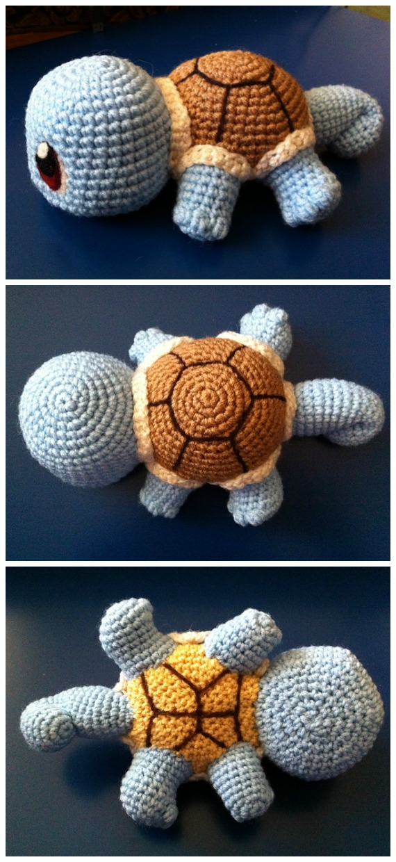 Ravelry: Bob the Turtle Amigurumi pattern by Carolina Guzman | 1240x570