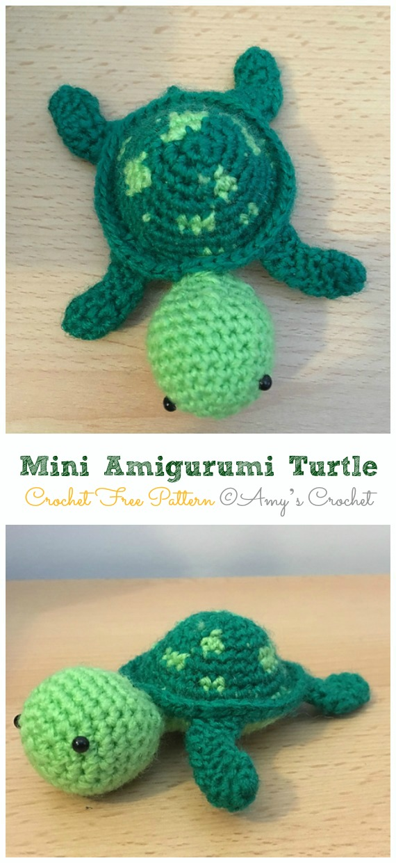 Pattern: Amigurumi Turtle - All About Ami | 1240x570