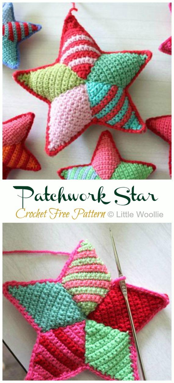 Amigurumi Star Free Crochet Pattern | Crochet star patterns ... | 1250x570
