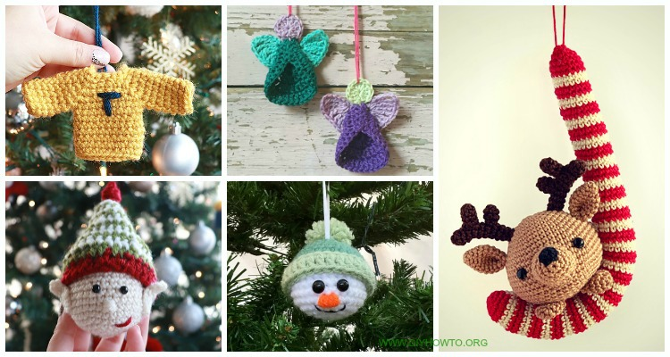 Some exciting free Christmas crochet patterns for your home ... | 400x750