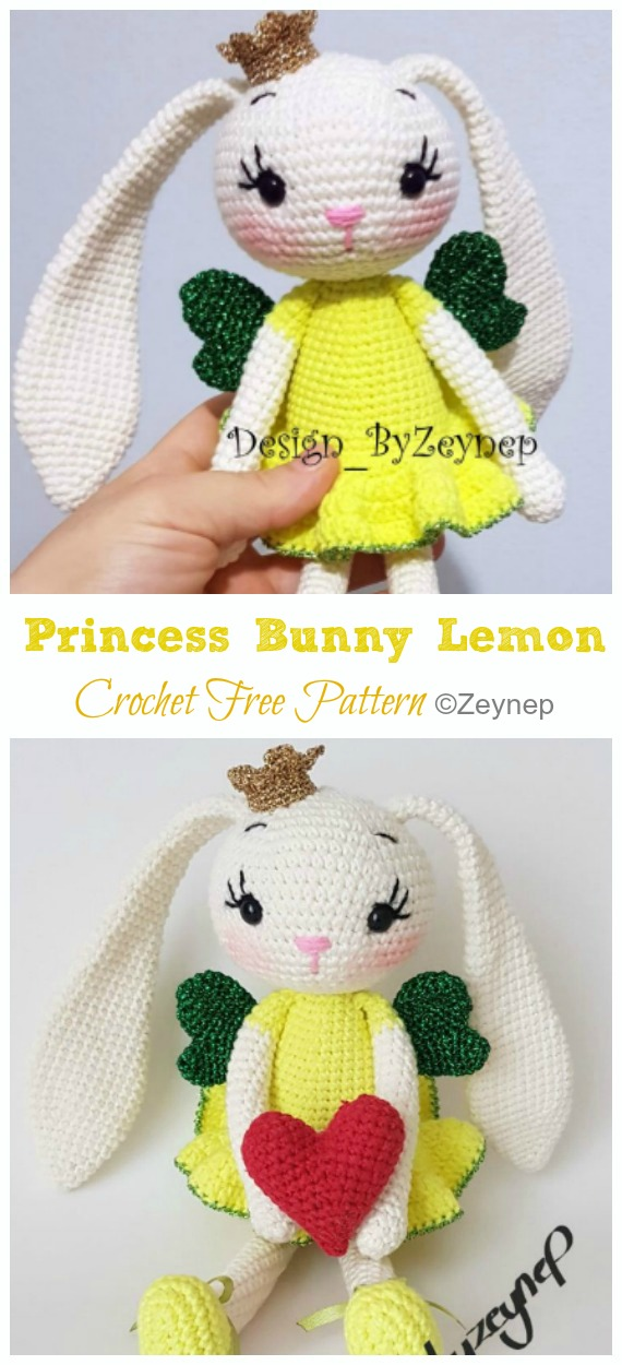 Disney Princess - Free Crochet Pattern (Beautiful Skills - Crochet ... | 1250x570
