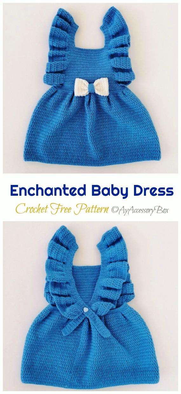 Angel Dress and Pants Crochet Free Pattern - #Crochet Girls #Dress Free Patterns