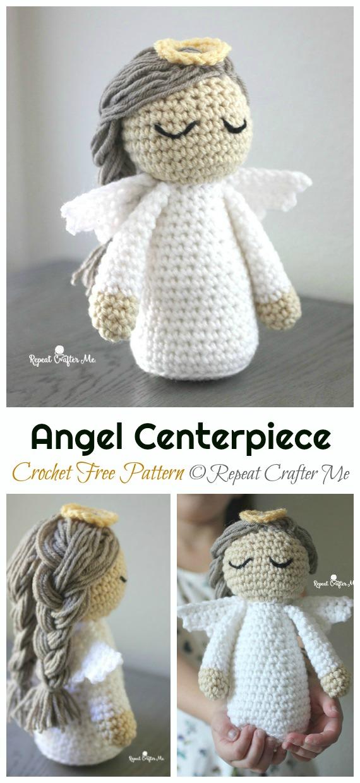 56+ Cute and Amazing Amigurumi Doll Crochet Pattern Ideas - Page ... | 1240x570