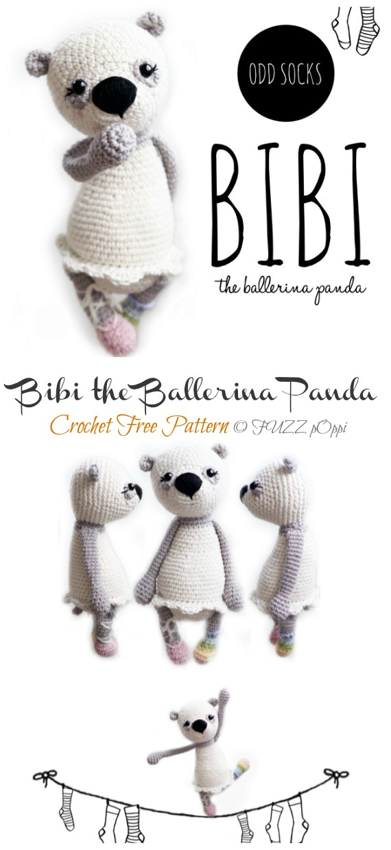 Ballerina cat doll crochet pattern - Amigurumi Today | 1240x570