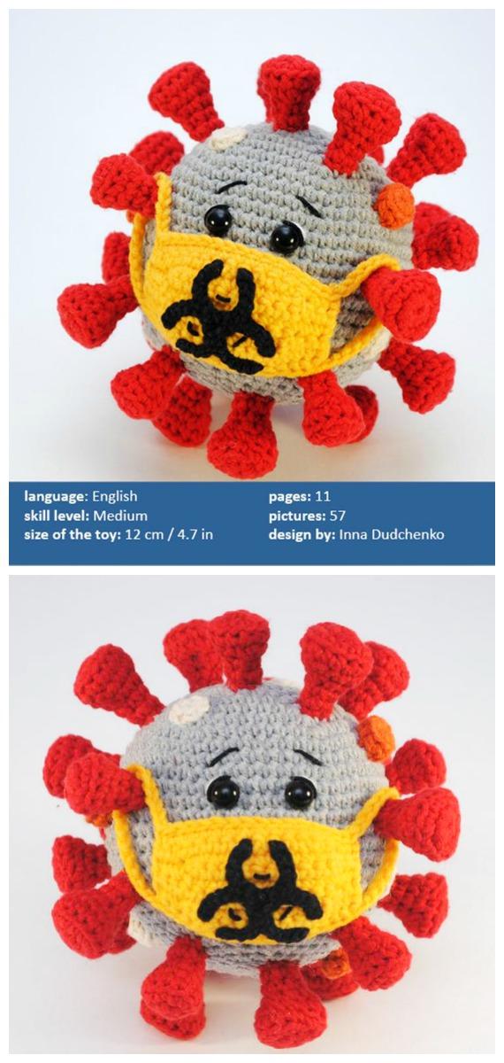 Amigurumi Corona Virus Crochet Patterns