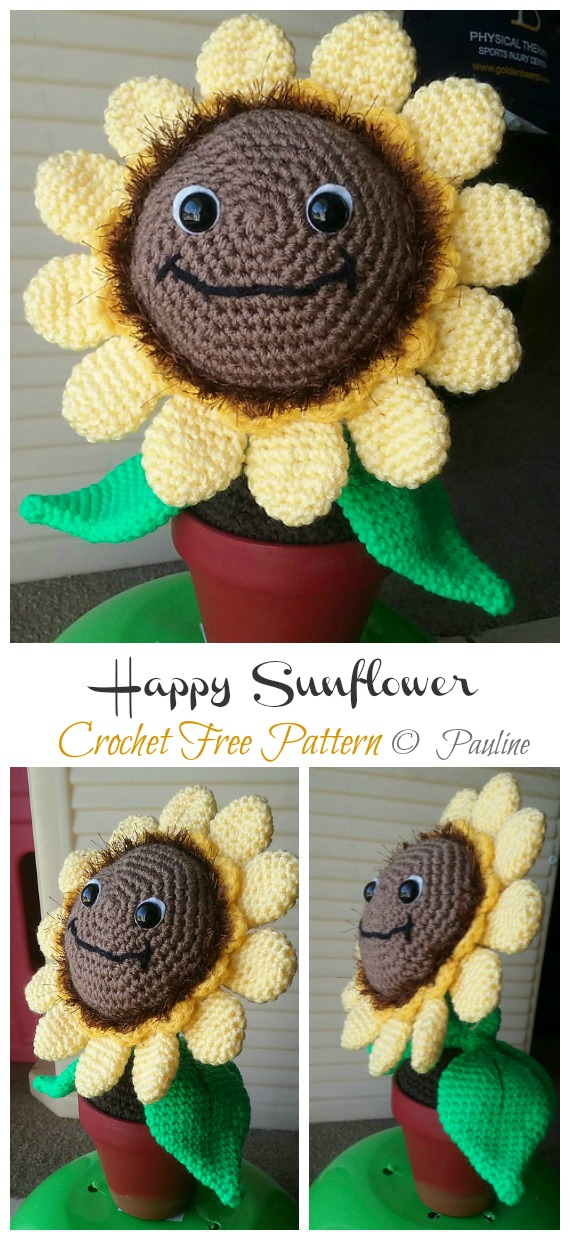 Sunflower Girl - Amigurumi PDF- English | 1240x570