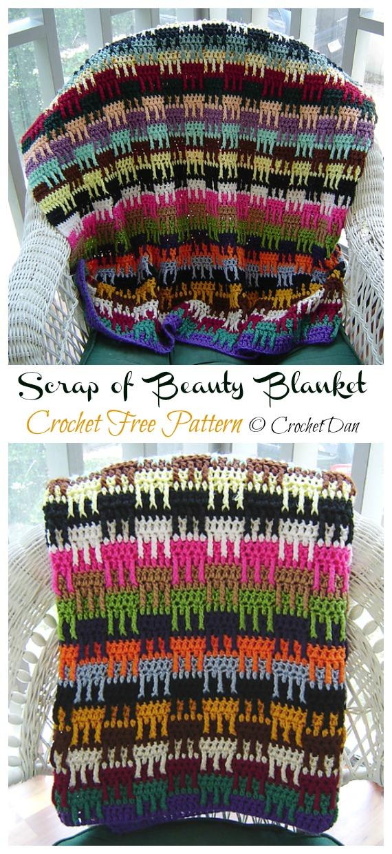 Crochet Free Pattern - Yarn #Buster; #Blanket; Free Crochet Patterns