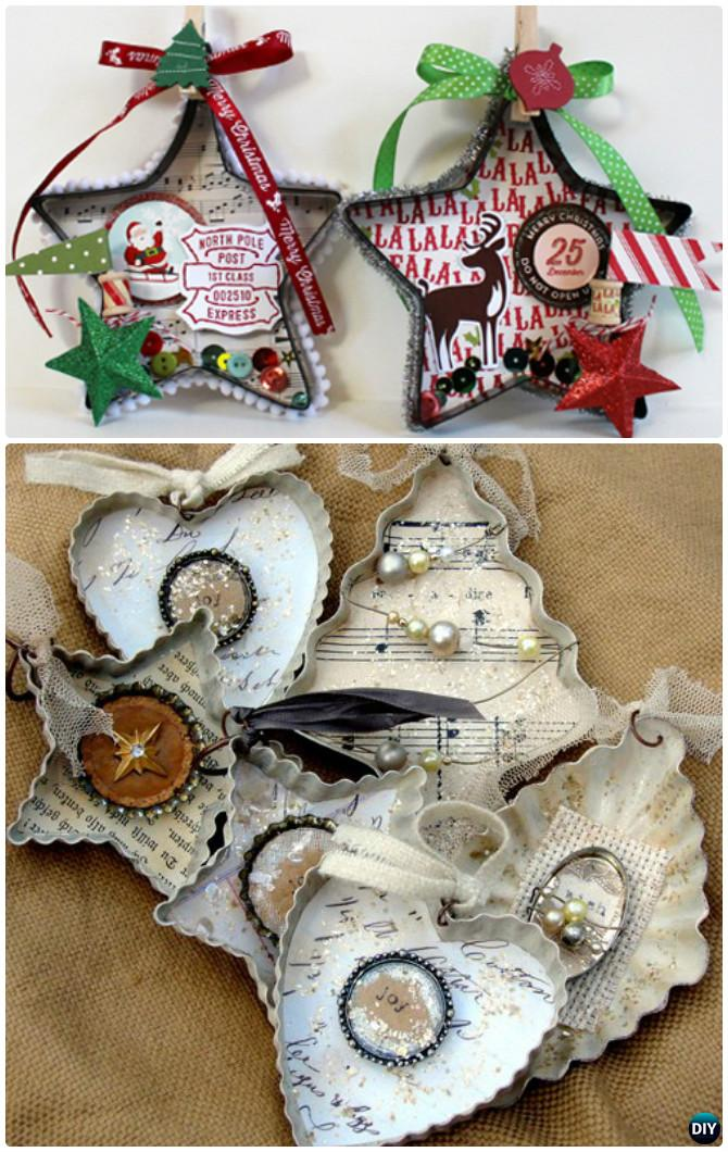 Diy Altered Cookie Cutter Christmas Ornaments Instruction 16 Cookie Cutter Craft Ideas Diy How To