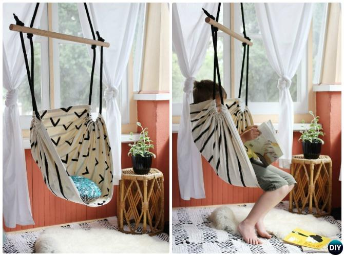 Diy Hammock Swing Chair Instructions Diyhowto Diy How To
