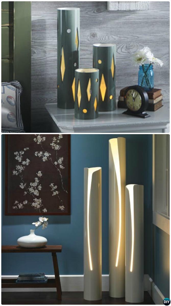 Diy Pvc Lamp Lighting 20 Home