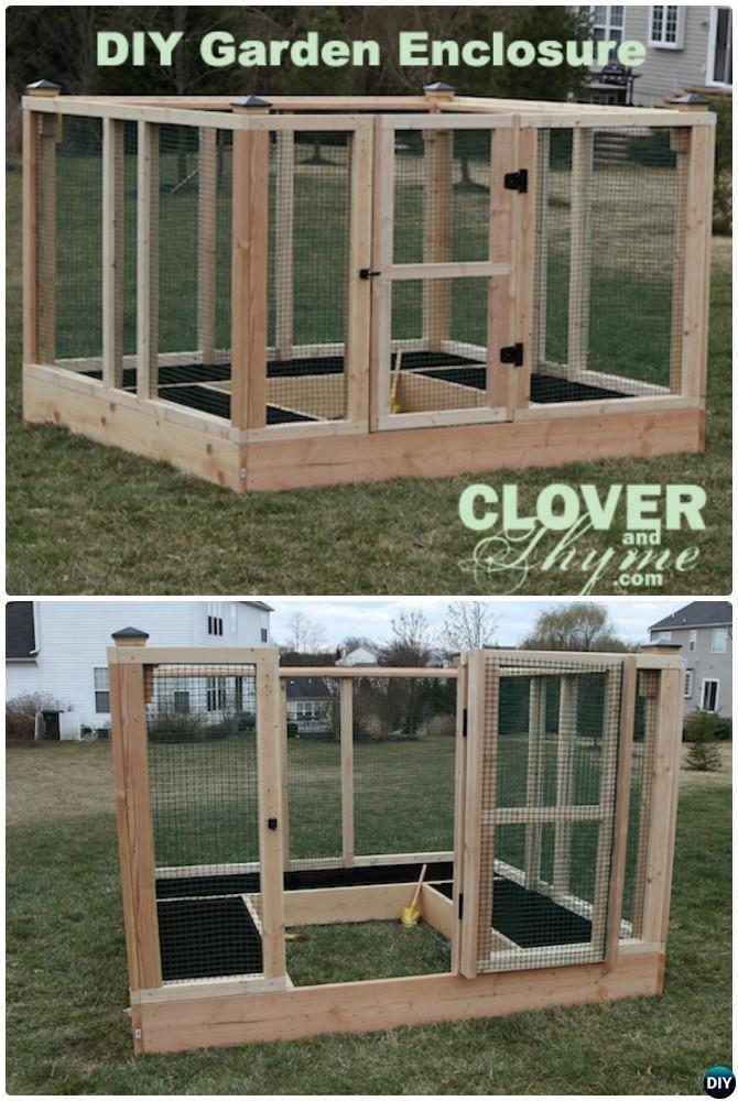 Diy Raised Bed Garden Enclosure 20 Diy Raised Garden Bed Ideas