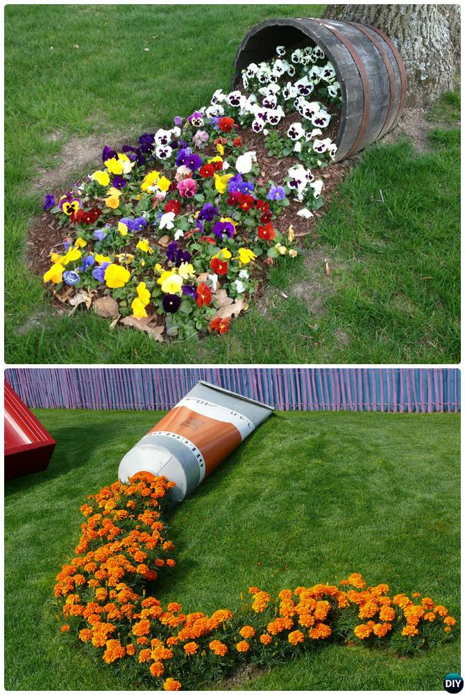 DIY Garden Art Decorating Ideas Instructions on Easy Diy Garden Decor id=76462