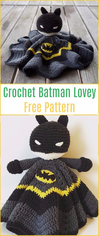 Ravelry: Batman pattern by Anna Carax   1360x570