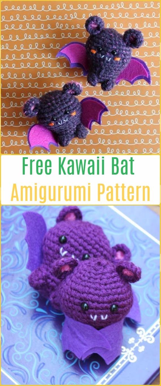 Chloe | Crochet Bat Pattern, Crochet Bat, Crochet Doll Pattern ... | 1360x570