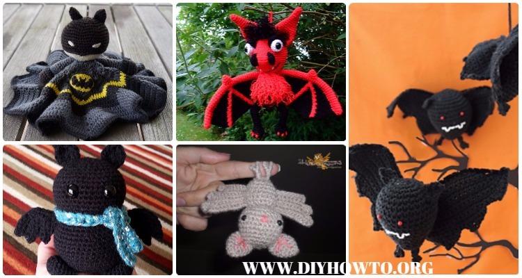 Cuddly Bat Free Crochet Patterns | 400x750