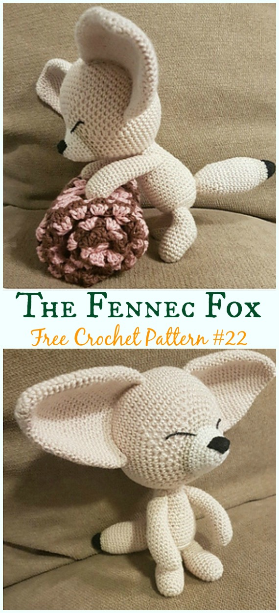 Red Fox amigurumi pattern - Amigurumipatterns.net | 1250x570