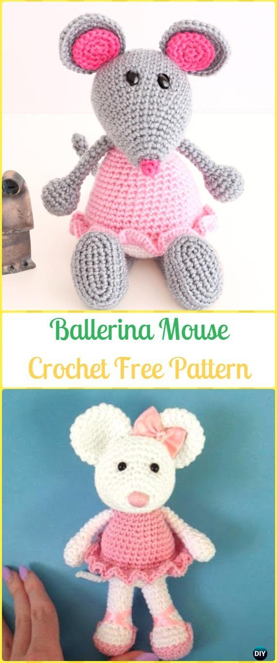 Amigurumi Ballerina Doll - Free crochet pattern by Amigurumi Today ... | 1360x570