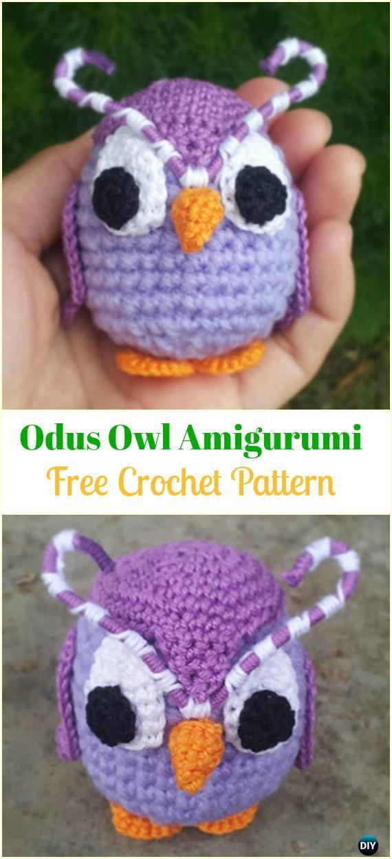 Owl Amigurumi -Free Amigurumi Pattern   Proyectos de ganchillo ...   1250x570