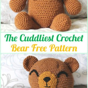Bear Amigurumi - Boco Bear   Free Crochet Pattern - Craft Passion   300x300