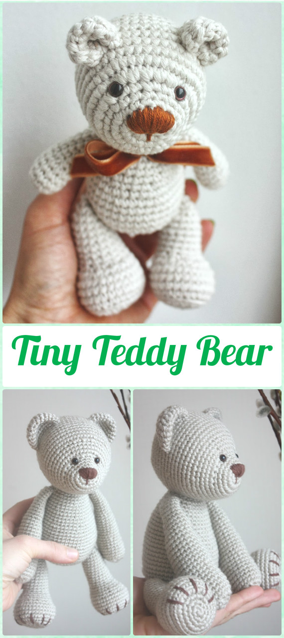 Crochet Teddy Bear Written Pattern and Video | 1280x570